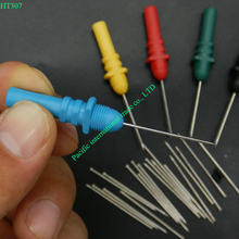 Osciloscopio Hantek HT307 Volver Pinning Sondas/Aguja/Piercing Sondas Set (Set de 5, Colores Surtidos) automotriz analizador lógico