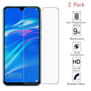 2PCS 2.5D 9H HD Screen Protector For HuaWei Y6 2019 Tempered Glass for HuaWei Y6 Pro 2019 Protective Display Protector Film image