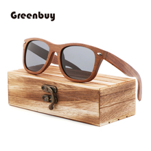 2018 pop trend bamboo and wood glasses lady Sunglasses wooden frame TAC lens UV400 polarized anti-ultraviolet Sunglasses fashionable blue polarized lens bamboo frame sunglasses