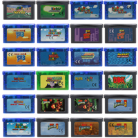 Video Game Cartridge 32 Bit Game Console Card Mari and Donkeyy Kong Series-in Memory Cards from Consumer Electronics
