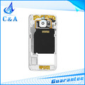 Replacement repair parts for Samsung Galaxy S6 G9200 middle frame housing cover case 1 piece free shipping black white