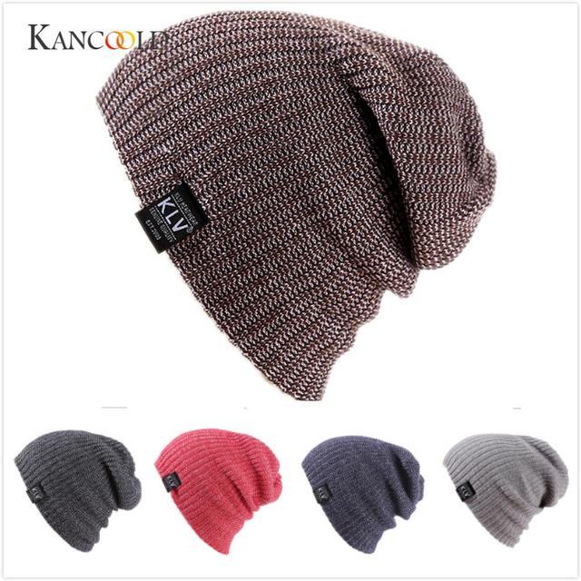 6b5d8bfa16fd06 KANCOOLD cap hatsune miku Men Women bucket hat Baggy Warm Crochet Winter  Wool Knit Ski Beanie Skull Slouchy Caps Hat PFET6