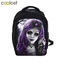 Punk Gothic Princess Girls Doll   Bear Backpack Children School Bags Kids  Kindergarten Backpacks Students Book 6b456814ad220