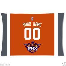 NUEVO Phoenix Suns Baloncesto Funda de almohada Personalizado Con Su Nombre y Número