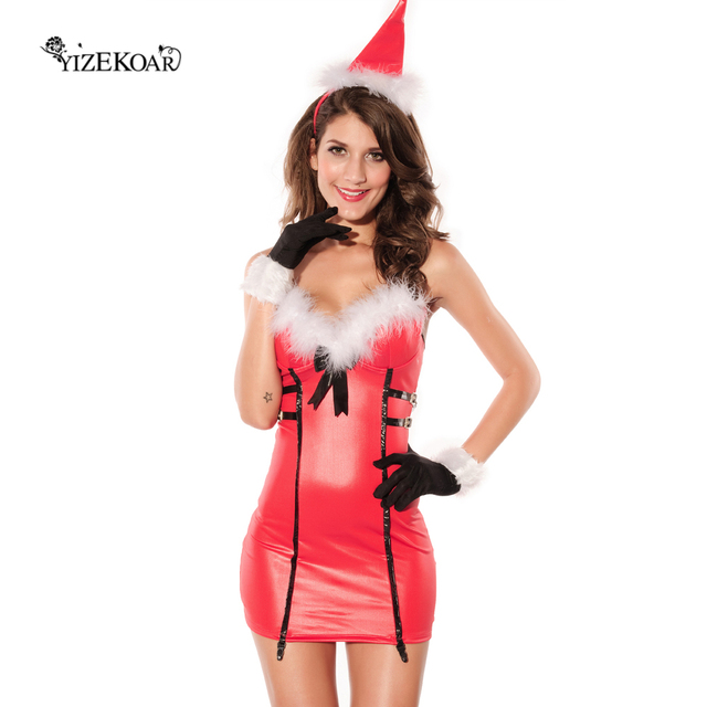 3PC Christmas Dress Red Sexy Women Party costume LC7212 Cheap price fast delivery  sc 1 st  AliExpress.com & 3PC Christmas Dress Red Sexy Women Party costume LC7212 Cheap price ...