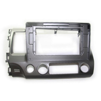 HANGXIAN 2Din Car Radio Fascia frame for HONDA CIVIC 2006 2011 Car DVD GPS player Panel Dash Kit Installation Frame Trim Bezel