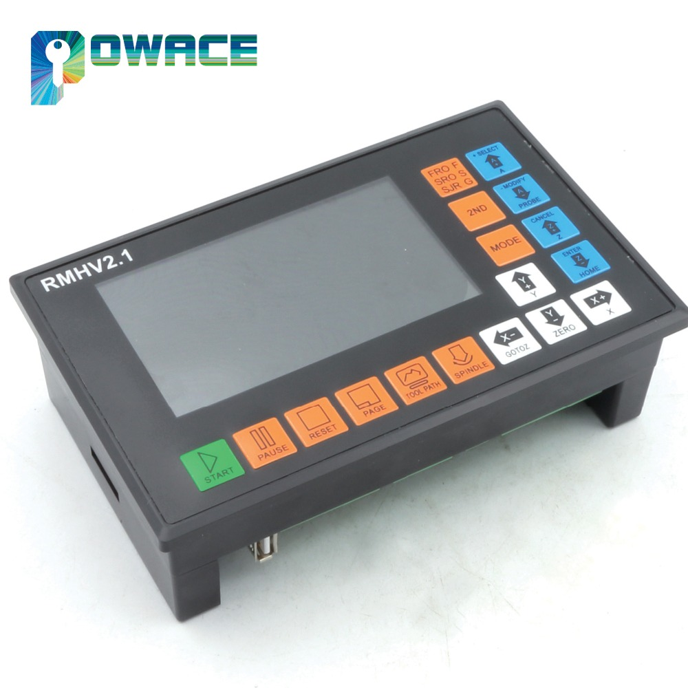[EU Stock/Free VAT] 4 Axis 500KHz PLC Controller Stand Alone off-line for CNC Router Engraving Milling Machine