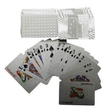 Cartes de jeu – Imitation argent 1