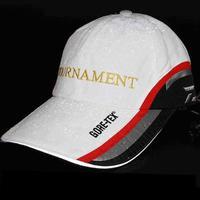 Ao ar livre ajustável chapéu de pesca guarda-sol boné respirável proteção uv masculino feminino preto branco adequado para esportes fishman