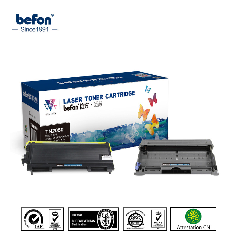 befon Toner Cartridge 2050 set for Brother TN2050 DR2050 TN350 350 TN2000 TN2025 2050 2005 2075 2085 TN25J 2025 2085 2000 cobra ст 2750