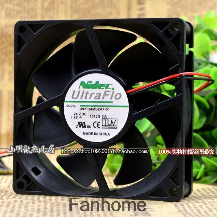 Fan for Nidec UltraFlo T92C12MGA7-57 I92C12NS1A7-56J65 F4001BA00BP 6824RA 9232 92x92x32mm Panasonic PT-AT5000 PT-AT6000
