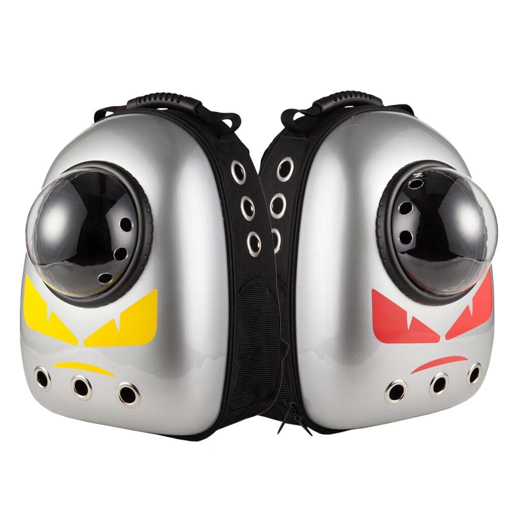 Ev ve Bahçe'ten Taşıyıcılar ve Pusetler'de Pet Kedi taşıma Kedi Sırt Çantası Uzay Kapsülü Astronot Taşıyıcı Köpekler Için Köpek Kabarcık Cam kedi çantası Panier Sohbet Için Ürünler turizm'da  Grup 2