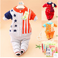 2016 Spring and autumn newborn baby clothing sets thick baby Knitted sweater pants 2pcs set  baby infants sweater 0-24M