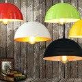 Алюминиевая индустрия ретро ресторан Ресторан подвесные светильники бутик отель Бар лампа подвесной светильник черный и белый FG485
