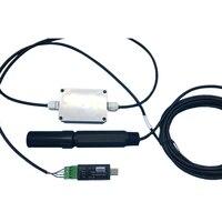 Интеллектуальный ионный аммиака Сенсор и передатчик электрод зонда монитор тестер RS485/USB выход ModBus RTU настройка скорости передачи