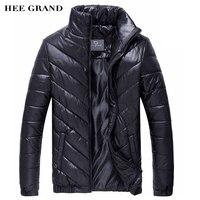 Hot Sale Men S Winter Coat Padded Jacket Autumn Winter Outwear Casual Parkas Solid Color MWM243