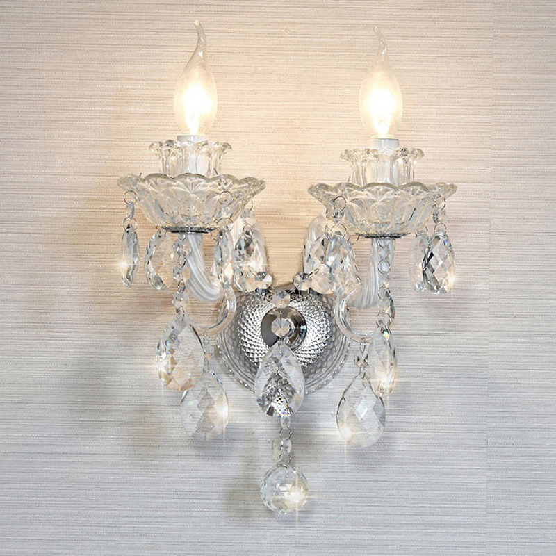 Modern Lighting Chandeliers Home Decorators Collection Light Candelabros Crystal Pendant Chandelier Dining Room Lamps Bed Room - 3