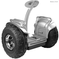 No Tax Self Balance Scooters Leg Control Cross Country Two Wheel 2400W 19inch Electric Scooter 72V