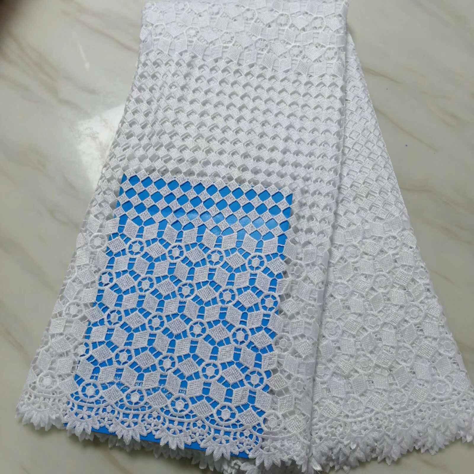 Африканское сухое кружево ткани высокого качества хлопок кружева для мужчин