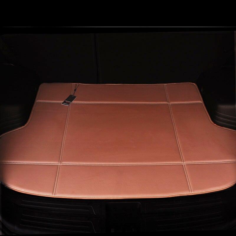 Custom Fit car trunk mat for Citroen DS5 DS6 DS5LS Infiniti EX QX50 FX QX70 QX60 QX80 car-styling tray carpet cargo line custom fit car trunk mat for nissan altima rouge x trail murano sylphy versa tiida 3d car styling tray carpet cargo liner
