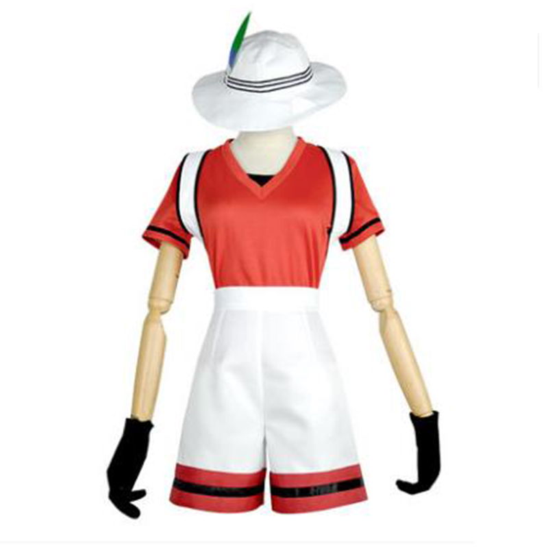 Kemono amis projet Animal Zoo Kaban manches courtes hauts Shorts tenue uniforme Anime Cosplay Costumes