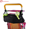 Bebé portavasos universal accesorios del carro bolsa de pañales organizador cochecito cochecito cochecito animales para niños botellas de cuidado