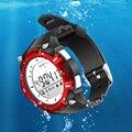 Nova barato bluetooth smart watch suporte 30 metro dzb huawei sony smartwatch relojes relógio de mergulho à prova d' água para ios inteligente