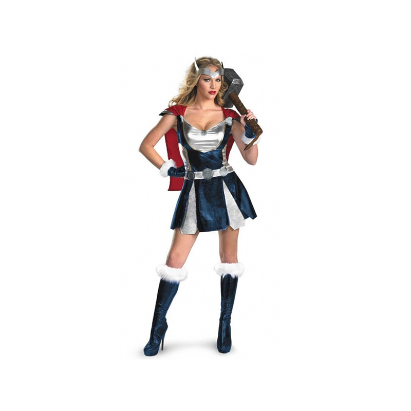 Superhero Costume Muscle Thor Cosplay Costumes Clothes Avengers Women Role Play Fancy Dress Halloween Cosplay High Quality
