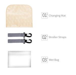 Image 5 - Sac à dos insulaire à couches pour maman, sac à couches de grande capacité pour femme, sac à dos de voyage et de soins de bébé