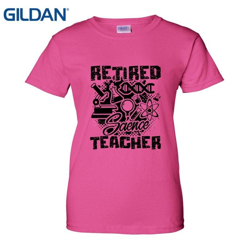 c8935ac1e Retired Science Teacher T Shirt Make A Custom Tee Shirt Shop T Shirt  Fashion Tee Cloth Women Adult T Shirt Short Sleeve Cotton-in T-Shirts from  Women's ...