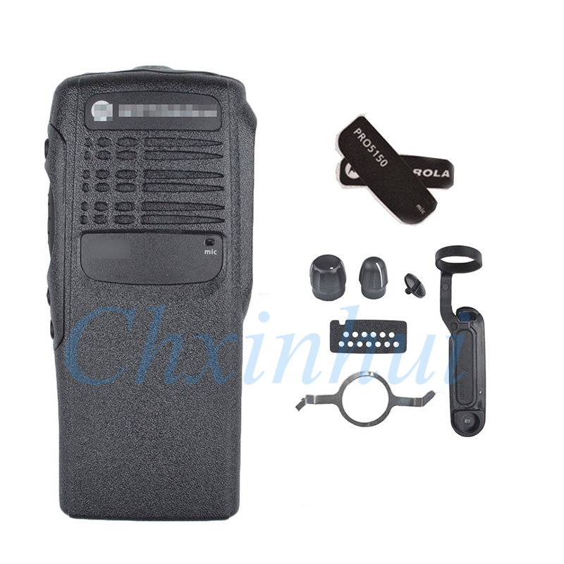 2019 New Black Replacement Front Housing Case For Motorola Two Way Radios Walkie Talkie PRO5150
