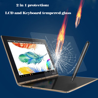 Transparent 0 3mm 2 5D 9H Tempered Glass Screen Protective Film And Keyboard Tempered Glass For