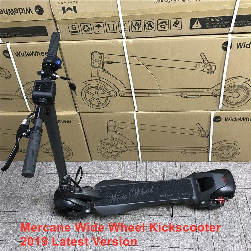 2019 Mais Novo Mercane WideWheel 48V 500 W/1000 W Inteligente Kick Scooter Elétrico Dobrável Grande Roda 45 KMH dual Motor Hoverboard