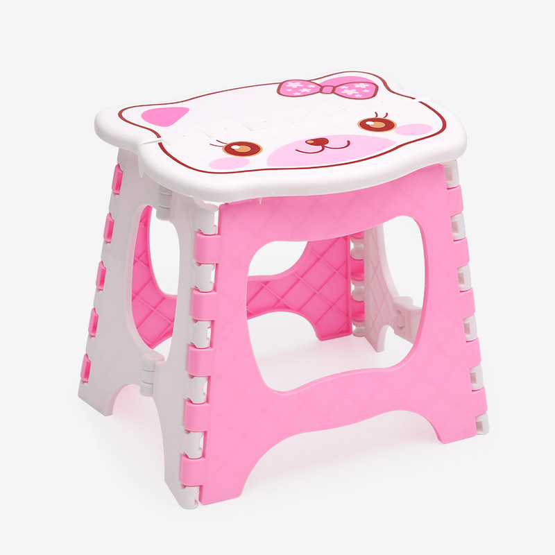folding camping picnic step stool plastic foldable chair cartoon portable folding stool kidu0027s chair fishing