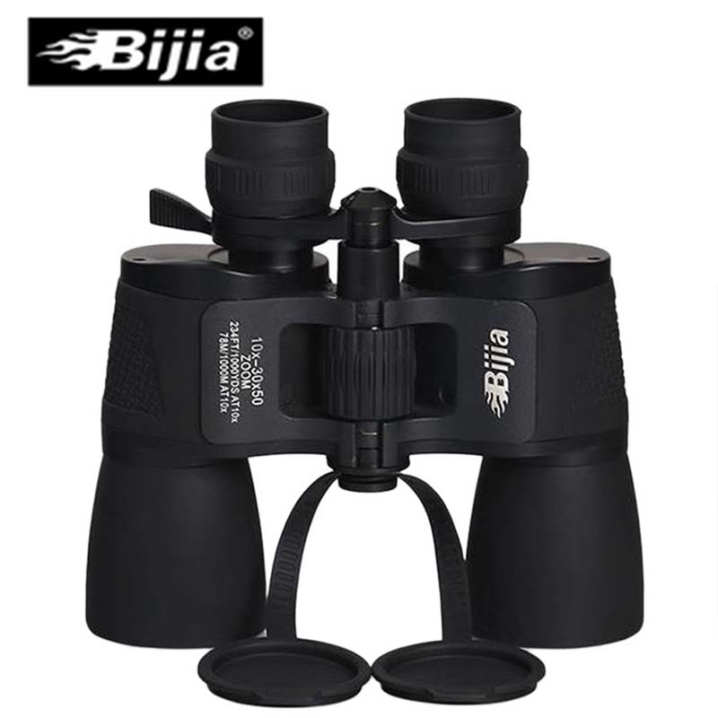 Powerful Binoculars 10-50x50 Optical Zoom Telescope Wide Angle Adjustment Binocular HD Night Vision Telescope Amber Coating Lens fs 20x50 high quality hd wide angle central zoom portable binoculars telescope night vision telescopio binoculo freeshipping