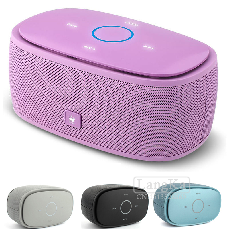 New Mult-function Kingone K5 Portable Wireless Stereo Bluetooth Speaker Mic Handsfree Call Super Bass FM for iPhone Samsung LG