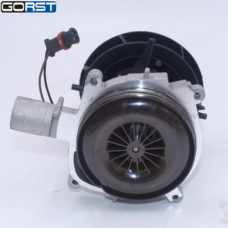 Auto parts 2KW 12V 24V blower motor big leaf assembly combustion air fan For Eberspacher D4 Car Air Diesel Heater Truck parts-13
