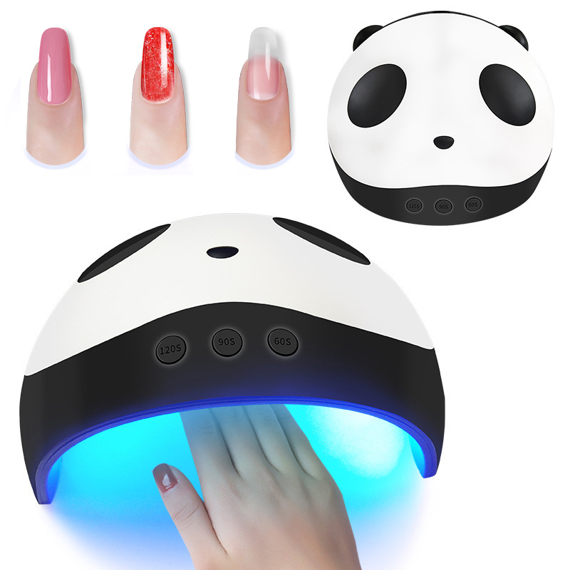 24/36W LED Nail Dryer Panda Light UV Gel Polish Curing