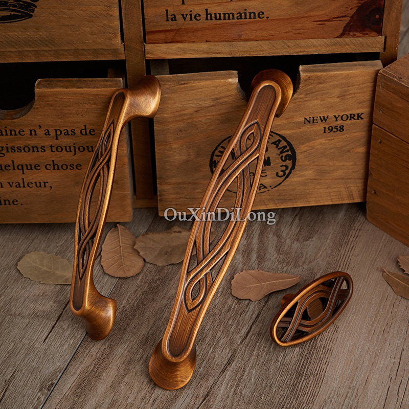 NEW 20PCS European Antique Kitchen Door Furniture Handles Hardware Cupboard Wardrobe Drawer Wine Cabinet Pulls Handles and Knobs 2017 free shipping european kitchen handle ivory white drawer wardrobe door handles modern simple hardware wine cabinet pulls