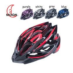 Księżyc Unisex jazda na rowerze formowane integralnie kask z ochrona przed owadami netto droga/górski konna ochronne urządzenia dla kask rowerowy