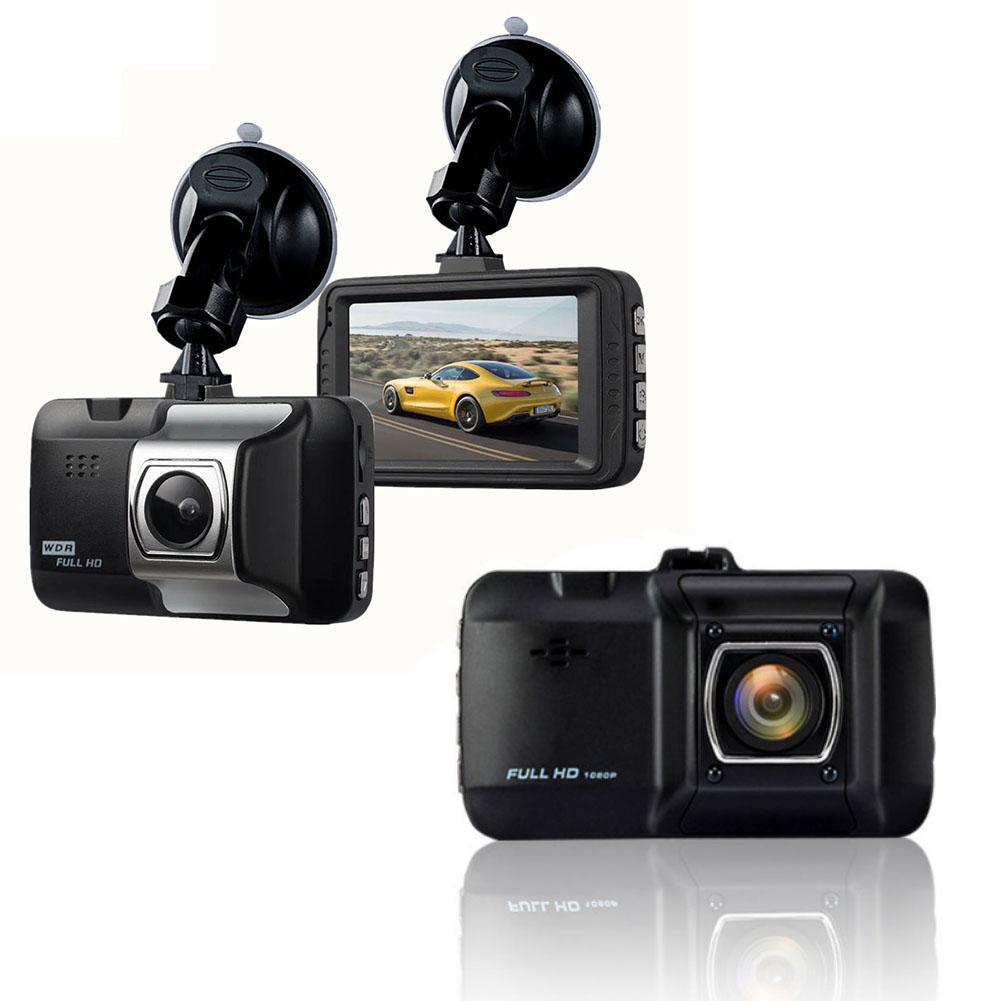 Видеорегистратор для автомобиля 720P HD Автомобильная камера регистратор для вождения 120 широкоугольная приборная панель камера Автомобильн...