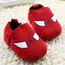 Cartoon Baby Boy Shoes 2017 Fashion Red Superman Kids Girl Sport Shoes Totem Babies Casual Shoes Children Sneakers First Walkers