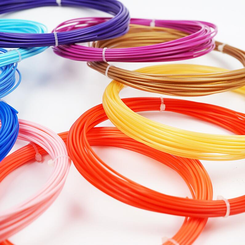 1.75MM PLA Filament Materials For 3D Printing Pen Threads Plastic Printer Consumables DIY Gifts toys for Kids GYH 18