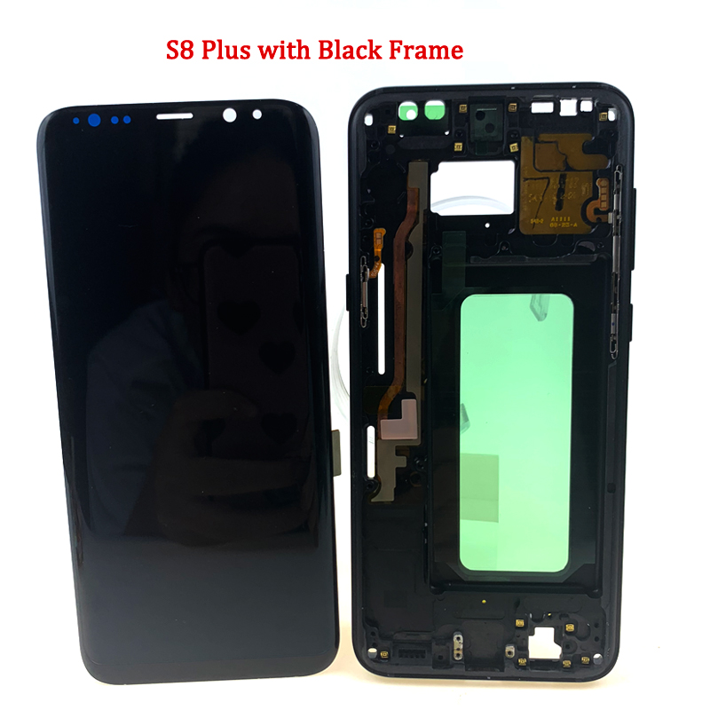 For-Samsung-Galaxy-S8-Plus-G955-LCD-SCREEN-WITH-FRAME-描述3