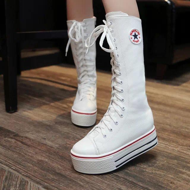 Sneakers Platform Boots Flats Shoes