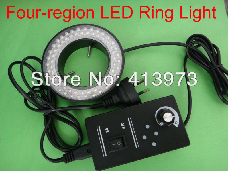 Free shipping, SZ -7 LED Ring Light for microscope
