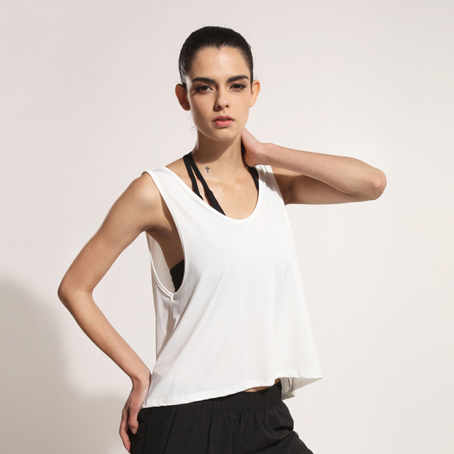 Women's Loose Sports Tank Top