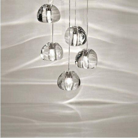 Mizu 5 Light Pendant By Nicolas Terzani From Terzani