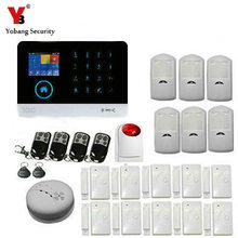 YoBang Security 3G RFID GPRS SMS Home Security Alarm System Burglar Alarm System Supports IOS Android Application Control 433MHZ
