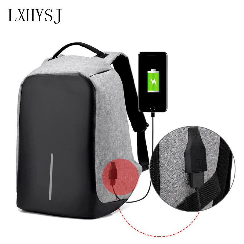Multifunction USB Charging Backpack Men and Women Laptop Backpacks For Teenager Leisure Travel Backpack anti thief Bag все цены